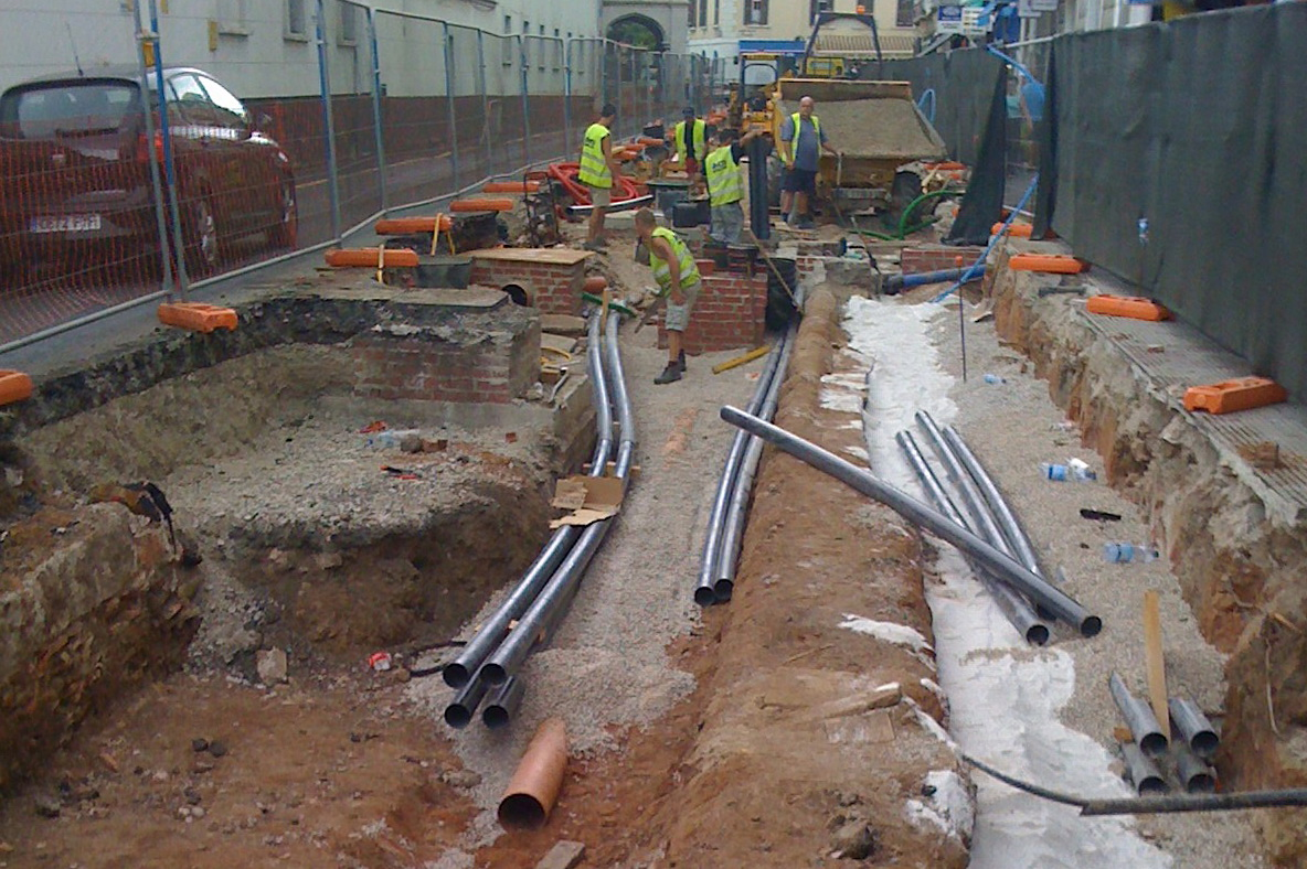 AMCO Pipe work
