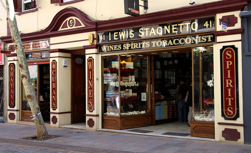 Lewis Stagnetto shop front